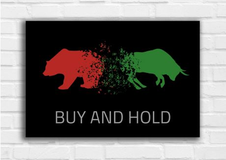 Buy and Hold - Rot/Grün